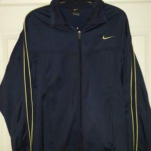 Nike warm-up jacket